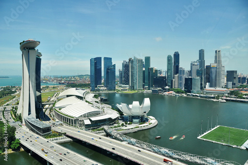 Singapore from the flyer