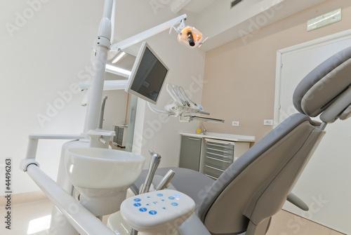Studio dentistico, Sala Operatria con strumenti medici
