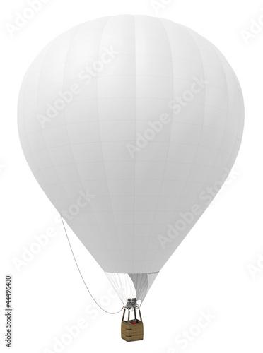 Montgolfière sur fond blanc 1 - 44496480