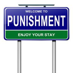 Punishment concept.