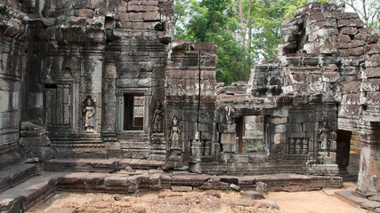 Innenbereich des Banteay Kdei, Kambodscha