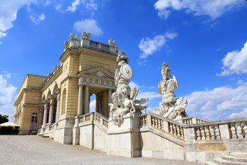 The Gloriette in the Schloss Schoenbrunn Palace Garden