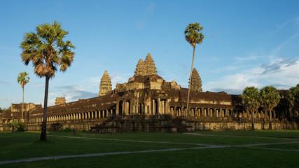 Seitenansicht vom Angkor Wat, Kambodscha