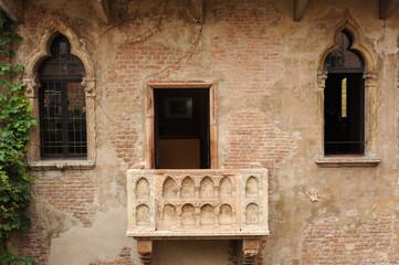 balcone della casa di Giulietta a Verona