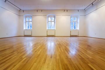 Empty exposition room