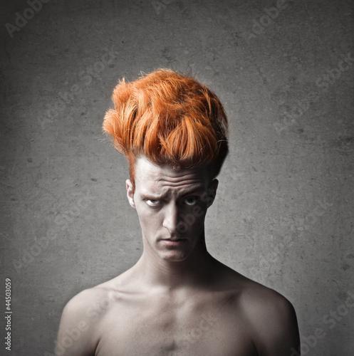 Fototapeten,mann,portrait,haare,hairstyle