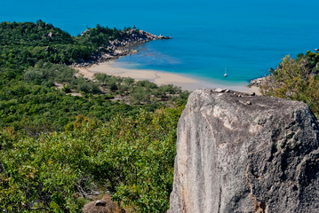 Isolated beach in Magnetic Island, Australia