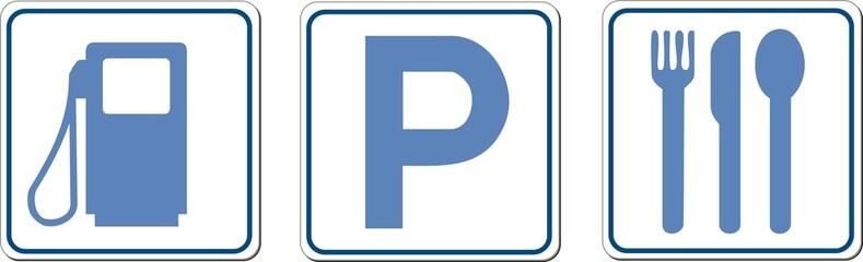 panneaux services commerce