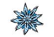 Edelweiss mit Bayrischem Muster