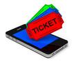 Die Ticketbuchung