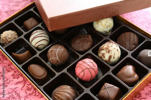 Fotobehang Snoepjes Chocolates