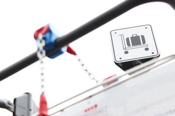 Gepäck trolley flughafen
