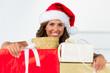 weihnachten mit geschenke