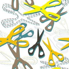 żółte nożyczki