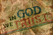 In God we trust Religious Background