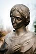 tombstone statue