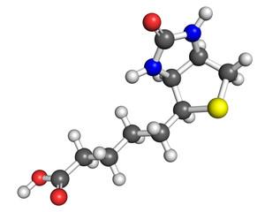 Vitamin B7 molecule
