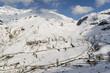Fototapeten,glen,schnee,gebirgskette,winter