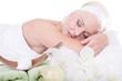 Body & Mind - Frau bei der Massage