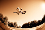 Fototapeta sport - nastolatek - Kolarstwo