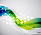Smooth wave vector abstract background
