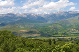 Pyrenees mountains landscape