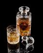 Whiskey Glass & Bottle 5