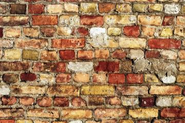 Hintergrund Mauer