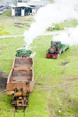 steam freight trains, Kostolac, Serbia