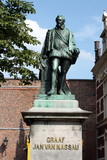 Statue of Governor Count of Nassau in Utrecht (Netherlands)