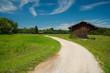 Weg um den Staffelsee in Bayern
