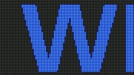 Success will come - LED billboard
