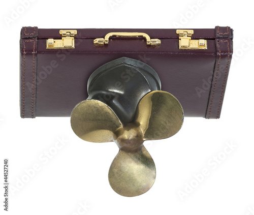 Briefcase with Propeller