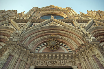 Siena cathedral - West Façade