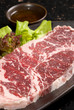 Raw meat slice, BBQ Steak, 牛肉