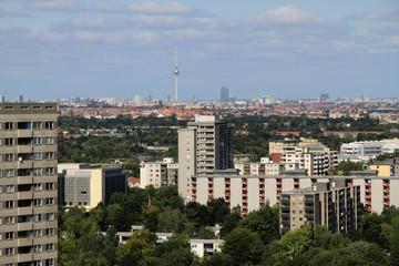 Blick über Berlin von der Gropiusstadt aus