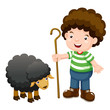 Little shepherd and black sheep