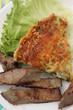 Tarte aux poireaux - Foie de Veau