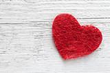 Fototapety Herz auf Holz