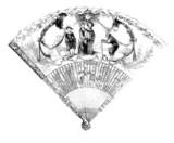 Fan - Éventail - Fächer - 18th century