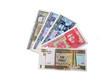 Фотография современных кубинских банкнот