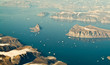 Greenland aerial landscape