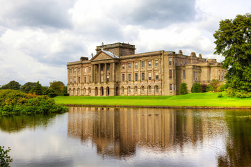 Lyme Hall in Cheshire, England - Historic Stately Home