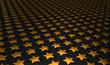 Sternen Matrix Hintergrund - gold schwarz 9