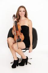 Musikalische Frau