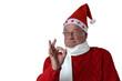 Zufriedener Weihnachtsmann