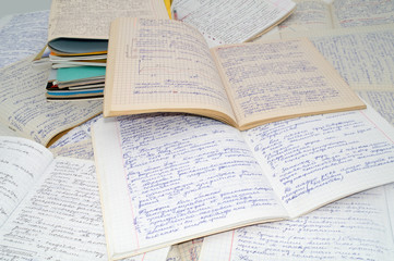Educational records of the student 7