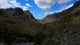 Glencoe, Scotland. Dramatic mountainous time lapse 2