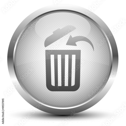 Papierkorb Button