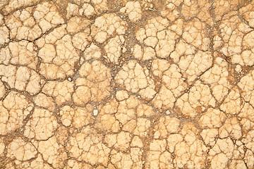 Desert dry earth texture background
